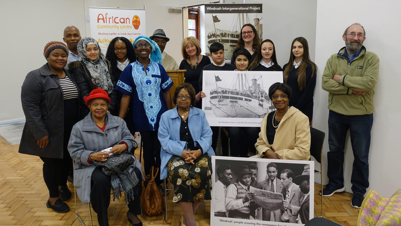 ACC Swansea WINDRUSH Intergenerational project